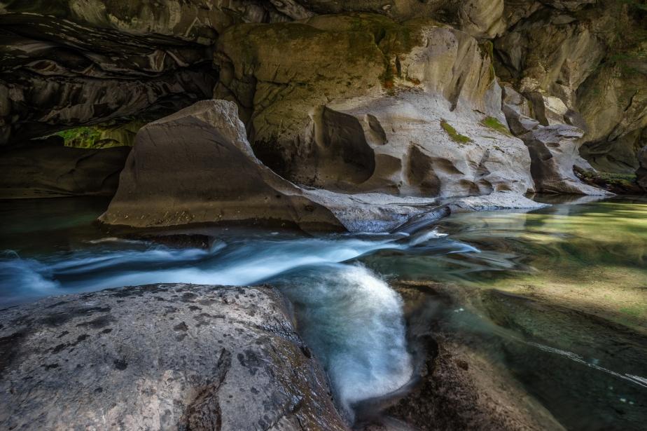 Little Huson Caves