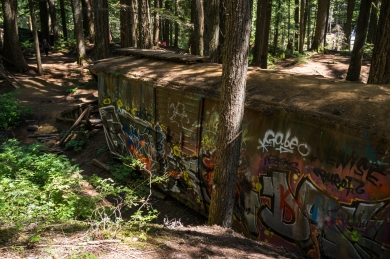 Train Wreck Trail near Whistler, British Columbia.